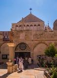 BETHLEHEM, PA, Israel, July 12, 2015: The city of Bethlehem. The Royalty Free Stock Image