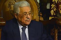 Bethlehem, Palestine. January 7th 2017: Palestinian President, M Stock Image