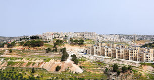 Bethlehem panorama Stock Photo