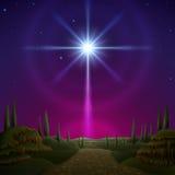 bethlehem stjärna Fotografering för Bildbyråer