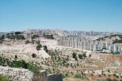 Bethlehem. View of the city of Bethlehem, Palestine May, 2010 Stock Photo