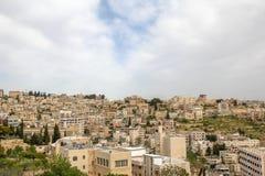 Bethlehem: vista della parte storica Immagini Stock