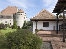 Bethlen-Haller castle, Romania stock photos