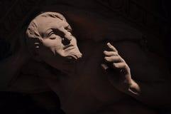 bethmann法兰克福德国雕塑街道 免版税库存照片