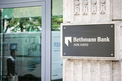 Bethmann bank Abn Amro Royaltyfria Bilder