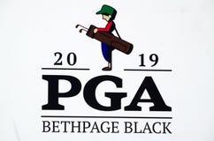 Bethpage-Schwarz-Golfplatz lizenzfreies stockfoto