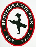 Bethpage-Schwarz-Golfplatz stockfoto