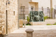 Free Bethphage Church Courtyard Royalty Free Stock Images - 101552779