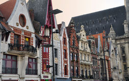 Free Bethune, France. Art Deco And Flemish Facades Royalty Free Stock Image - 53182986