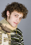 Betiful young man Stock Images