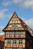 Betimmerde huizen Stock Foto's