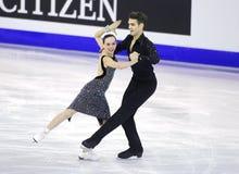 Betina Popova и Юрий Vlasenko от России Стоковые Фотографии RF