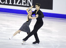 Betina Popova i Yuri Vlasenko od Rosja Zdjęcia Royalty Free