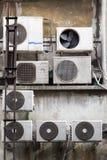 Betingande kompressor för luft Arkivfoton
