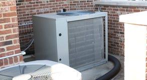 Betingande kondensator för luft fotografering för bildbyråer