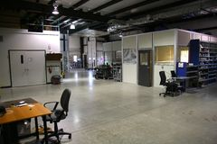 Betingande laboratorium för luft Royaltyfri Fotografi