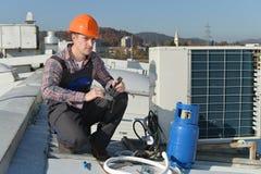 Betingande reparation för luft Arkivfoton