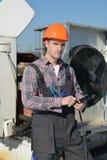 Betingande reparation för luft Fotografering för Bildbyråer