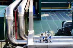 Betingande systemrostfritt stål för luft Royaltyfri Bild