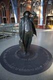 betjeman John pancras st stacyjna statua Zdjęcie Royalty Free