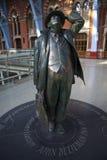 betjeman międzynarodowa John pancras st statua Obraz Royalty Free
