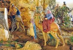 Betlehem de tre vise männen Royaltyfri Fotografi