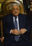 Betlehem Palestina Januari 7th 2017: Palestinsk president, M Royaltyfria Bilder