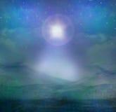 Betlehems stjärnaillustration Arkivbilder