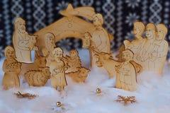 Betlemme di legno Fotografia Stock Libera da Diritti