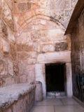 Betlemme nell'autorità palestinese, la vecchia basilica del immagine stock libera da diritti