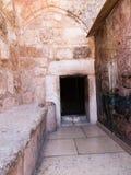 Betlemme nell'autorità palestinese, la vecchia basilica del immagini stock libere da diritti