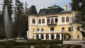 Betliar mansion , Slovakia Stock Photos