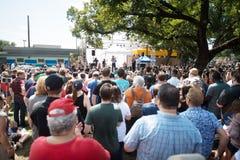 Beto O ` Rourke Demokrata Teksas Prowadzi kampanię dla senata obraz stock