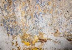 Beton befleckte Wandbeschaffenheit Lizenzfreies Stockfoto