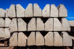 Beton bringt Straßen in Verlegenheit stockfotografie