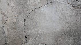 Beton bruten vägg Royaltyfri Fotografi