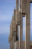 beton flue - cured obraz stock