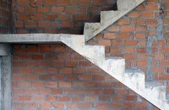 Beton- oder Zementtreppe Lizenzfreie Stockbilder