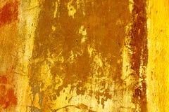 beton pęka starą ścianę Zdjęcie Royalty Free