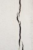 beton pękająca ściana Obraz Stock