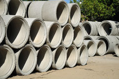Beton pipes. Stock Images