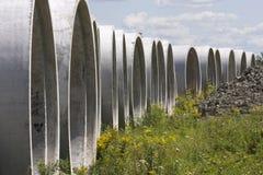 beton piszczy kanał ściekowy Zdjęcie Royalty Free