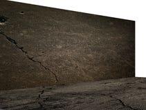 Beton podłoga z cieniami i Zdjęcia Royalty Free
