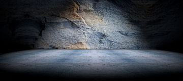 Beton- und Felsenbodenhintergrund Stockbilder