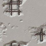 beton uszkadzał ilustracja wektor