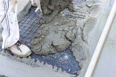 beton w budowie Obraz Stock