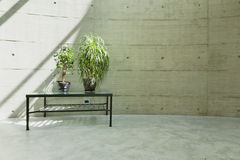 Beton wall Stock Photo