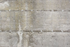 Beton wall as texture. In a construction site Royalty Free Stock Photos