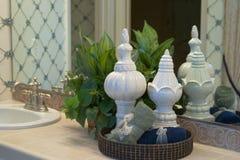 betonar dekorativ bathrom Royaltyfri Fotografi