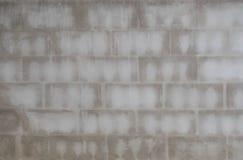 Betonblockwand Stockfotografie